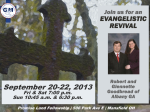 Revival Flyer for Goodbread Ministries