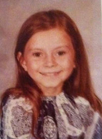 Glennette at a young age